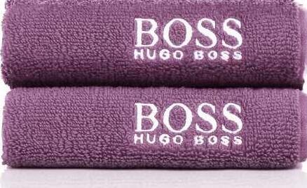 BOSS可裁剪面巾二件套