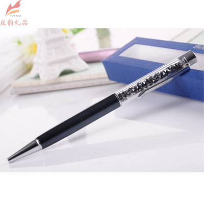 施华洛世奇 黑杆黑钻特别版水晶笔